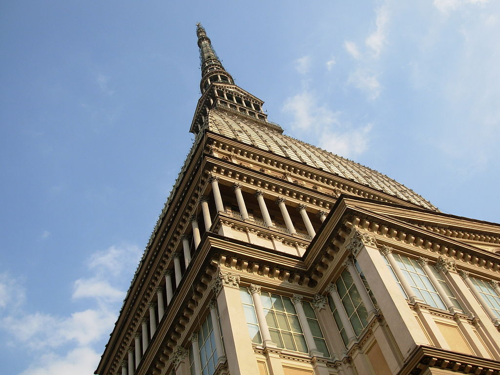 The Mole Antonelliana is the Turin's icon