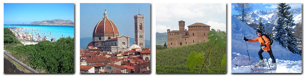 Attractions to Italy