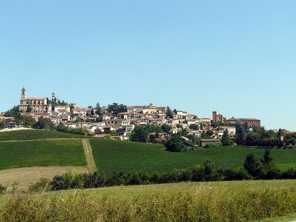 Monferrato: wine district of Italy