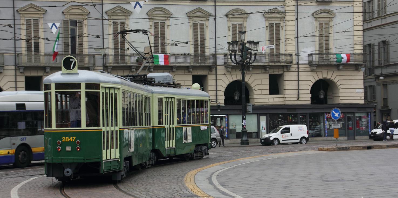Turin tram tour
